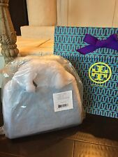 NEW-TORY BURCH ROBINSON TRIANGLE TOTE ELECTRIC EEL-MINT-NWT$525 31139642