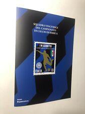 2021 Folder Inter FC Internazionale Campione d'Italia 2020/21 Scudetto LE 5000
