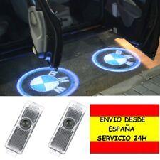 Pack de 2 Proyector Logo Insignia BMW Luz Puerta Lámpara Serie 3 5 6 7 X Z y GT