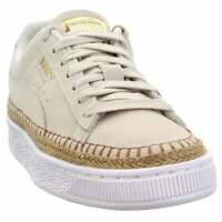 Puma Suede Sneakerdrille Womens  Sneakers Shoes Casual   - Beige - Size 10 B