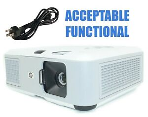 HP VP6320 DLP Projector - Acceptable Functional w/Power Cable