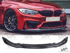 BMW M3 M4 F80 F82 F83 VRS STYLE CARBON FIBER FRONT LIP SPOILER SPLITTER