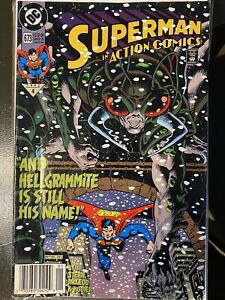 Superman Action Comics 673 Cover A First Print 1992 Roger Stern Mcleod DC .