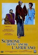 Dvd SCIPIONE DETTO ANCHE L'AFRICANO - (1971) *** Marcello Mastroianni ***NEW