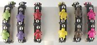 Amazing Turtle / Tortoise Bracelet on Synthetic Leather Surfer Closing Unisex