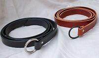 """3/4"""" Wide Slender Medieval Ring Belt SCA Faire Pirate Rennie Steampunk Knight"""