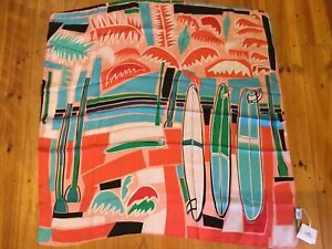 HERMES Silk Scarf Product Model 192611D8W6 100% Pure Silk #5317