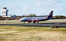PHOTO  BOEING A320-200 OF AEROFLOT AT COPENHAGEN AIRPORT