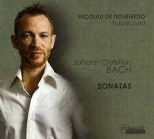 Nicolau de Figueiredo, J.C. Bach - Sonatas [New CD] Digipack Packaging