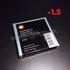 Leica Diopter-Adjustment -1.5 Correction Lens for M System Viewfinder Original