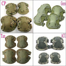 New Adjustable Knee&Elbow Pad Tactical Airsoft Outdoor Protective Gear Knee pads