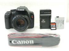 Canon Rebel T2I Bundle!  EF 55 lens, SD cards, battery, charger