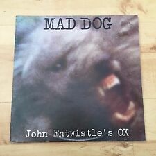 John Entwistle's Ox - Mad Dog TXS-R 114 (Vinyl LP) VG+/VG+