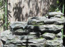 Wasserspiel Terrassenbrunnen Kaskade Felsenoptik