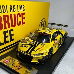 1/18 POP Race TINY Audi R8 LMS Bruce Lee 80TH PR18-R8LMS-BL80