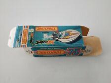 Matchbox Superfast #05 Seafire Boat Original Empty Box Only
