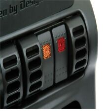 Daystar KJ71032 Black Air Vent Switch Panel for Jeep TJ Wrangler / XJ Cherokee