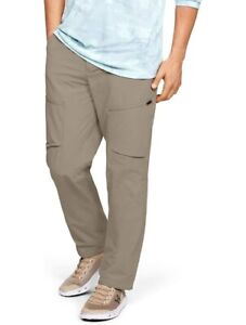Under Armour Men's Canyon Cargo Fish Pants 1352692-299 (Size 40X34) NWT MSRP $90