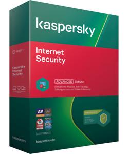 Kaspersky Internet Security 2021 / 1PC - 10PC, 1 oder 2 Jahre / Multi Device