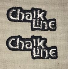 Chalk Line Patch Lot - Lot of 2 Patches