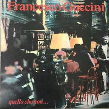 Guccini Francesco - Quello Che Non ... LP - Vinile