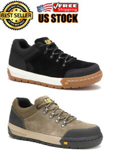 Caterpillar CONVERGE ST Steel Toe Mens Work Industrial Blackt Leather Shoes