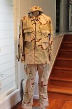 US  Desert Camo uniform Tri Colour Major Rank with Cap