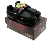 Lake Cycling CX 125 Size 39.5 Clipless Shoes 6 US Road All Pedals NOS NEW in Box