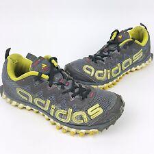 ADIDAS Women's Vigor TR III 3 Trail Running Shoes (G66062) Gray Yellow Size 7