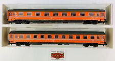 446. Roco N 2261E+ 2262A - Lotto 2 Auto Viaggiatori FS 1 ª+ 2 Classe - Come