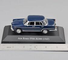 Atlas 1/43 Scale Alfa Romeo FNM JK2000(1967) Type Diecast Car Truck Model Toy