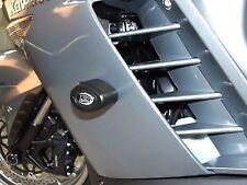 R&G RACING Aero Crash Protectors, Kawasaki GTR 1400 (Concours) 2007-2009 *BLACK*