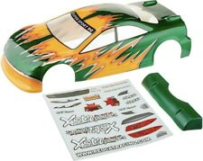 Redcat 12201 1/10 Road Car Body, Green and Yellow : Lightning EP Drift / EPX PRO
