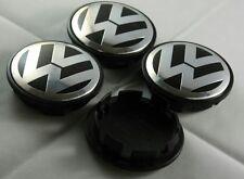VW WHEEL CENTRE EMBLEMS 65MM GOLF TOURAN SCIROCCO PASSAT SHARAN EOS TIGUAN CARS