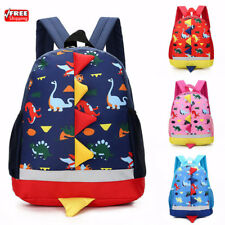 New Children Kids Dinosaur Backpack School Bag Rucksack Kindergarten Boys Girls