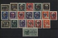 Besetzung 2. Weltkrieg Laibach 1-20 gestempelt (B06495)