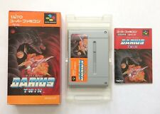 Darius Twin Super Famicom SFC SNES Japan Free Shipping
