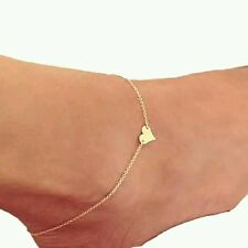 Female Heart Anklets