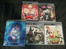 Ps3 Playstation 3 Lot Complete Rpg Persona 5 Catherine Final Fantasy Tales Fate