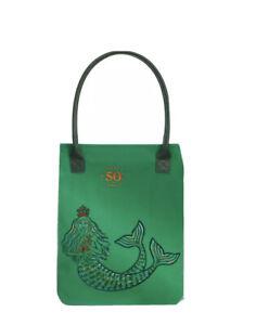 Starbucks 50th Anniversary Green Siren Tote Bag New In Packaging Free Post