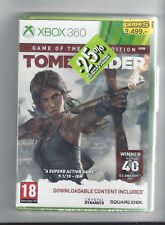 TOMB RAIDER GOTY for Xbox 360 - NEW in seal