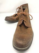 WOLVERINE 1883  Boots Vtg Brown Leather Work Ankle Classic Chukka USA  Men 13 M
