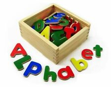 Fun Factory - Magnetic Letters 52pc Educational Wooden Toy