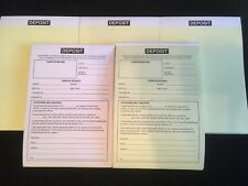 USED CAR VEHICLE SALES DEPOSIT PAD INVOICE BUYING AND SELLING CARS & VANS