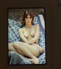 NUDE 35MM TRANSPARENCY SLIDE FEMALE MODEL VINTAGE FINE ART PHOTO