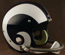 LOS ANGELES RAMS 1964-1972 NFL Riddell TK Suspension Football Helmet