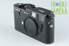 Leica M4-2 35mm Rangefinder Film Camera In Black #13527D2