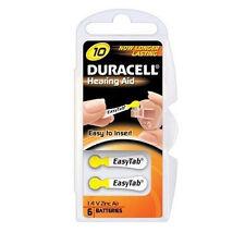 DA10 Duracell 1.4V Hearing Aid Battery - Common Hearing Aid Battery - DA10  (Con