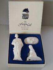 Vintage Boehm The First Noel Nativity Christmas Figurine Jesus Mary Joseph NIB