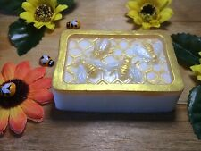 MILKY WAY Transparent/Clear or Yellow Silicone Mould Honey Bee Cake,Soap Making
